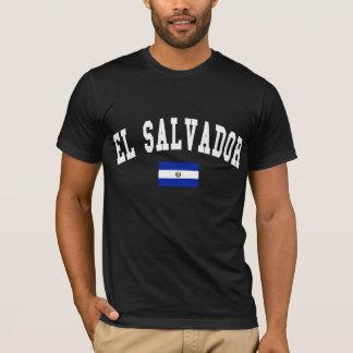 Style d'université du Salvador T-shirt