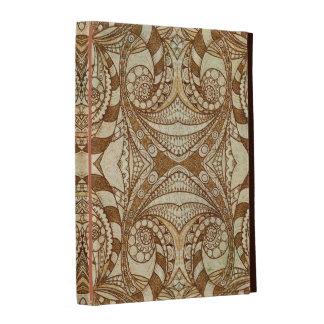 Style ethnique de folio d iPad de Caseable Étuis iPad Folio