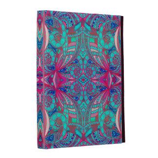 Style ethnique de folio d iPad de Caseable Étui iPad Folio