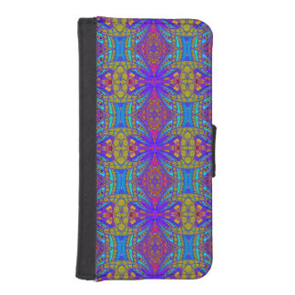 Style ethnique de l'iPhone 5s de caisse de Coque Avec Portefeuille Pour iPhone 5