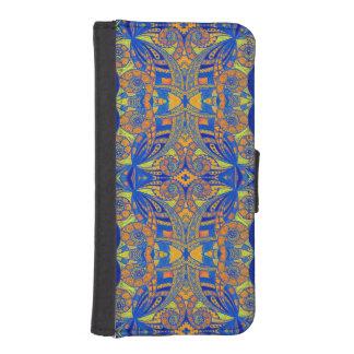Style ethnique de l'iPhone 5s de caisse de Coques Avec Portefeuille Pour iPhone 5