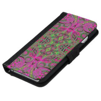 Style ethnique de l'iPhone 6 de caisse de Coque Avec Portefeuille Pour iPhone 6