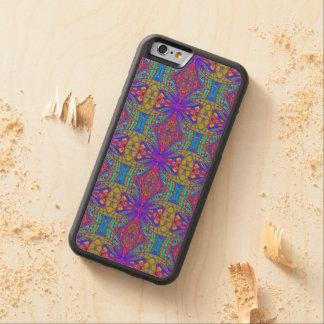 Style ethnique de l'iPhone 6 en bois de cas Coque iPhone 6 Bumper En Érable