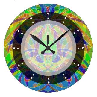 Style ethnique d'horloge murale