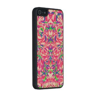 Style ethnique en bois de l'iPhone 5/5s de cas