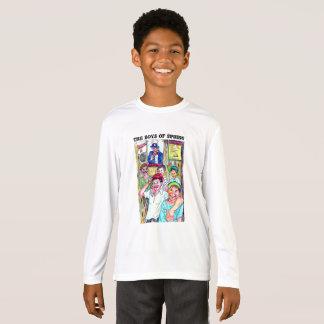 Style fait sur commande unique par l'artiste Phil T-shirt