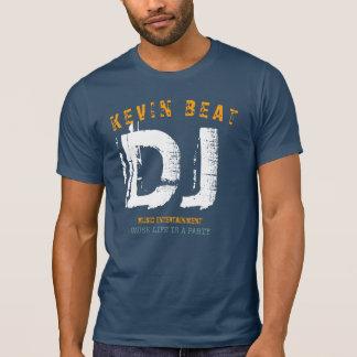 Style frais de pièce en t du DJ T-shirt