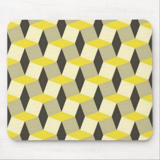 Style géométrique tapis de souris