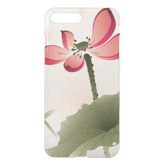 Style oriental Lotus Coque iPhone 7 Plus