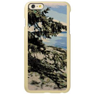 Style Pacifique de bois de graveur de plage