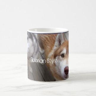 Style sibérien mug blanc