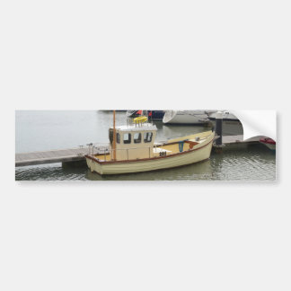 Style traditionnel de bateau moderne adhésif pour voiture