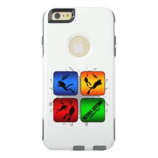 Style urbain de plongée à l'air extraordinaire coque OtterBox iPhone 6 et 6s plus