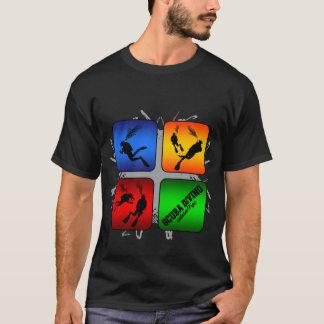Style urbain de plongée à l'air extraordinaire t-shirt