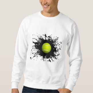 Style urbain de tennis sweatshirt