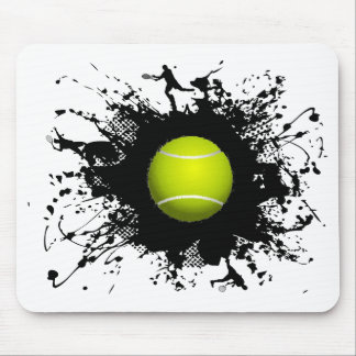 Style urbain de tennis tapis de souris