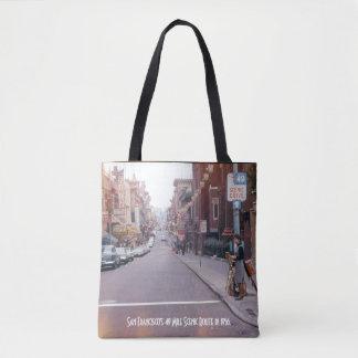 Style vintage Fourre-tout de San Francisco Tote Bag