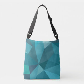Stylische sac dans les tons bleus