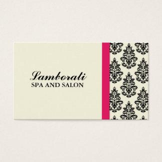 Styliste floral de wedding planner de damassé cartes de visite