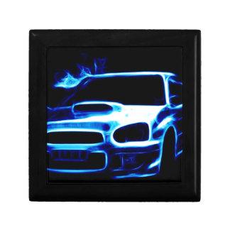 Subaru Impreza Petite Boîte À Bijoux Carrée