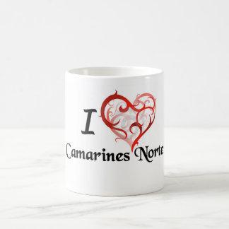 substance de norte de camarines mug blanc