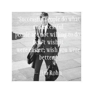 """Successful people do'' Toile"