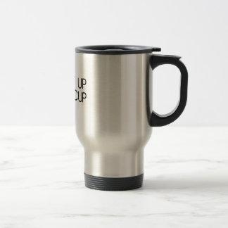 Sucez-le vers le haut de la renoncule mug de voyage