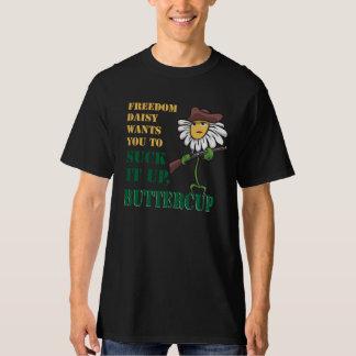 Sucez-le vers le haut du tee - shirt de renoncule