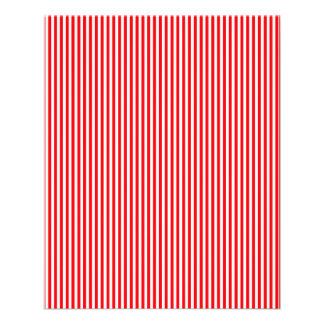 Sucre de canne de Noël en rouge de Noël Prospectus 11,4 Cm X 14,2 Cm