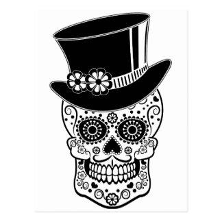 Sucre Skull-01 de monsieur Carte Postale