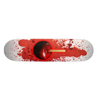 Sucrerie Apple brillante rouge Skateboard Customisable