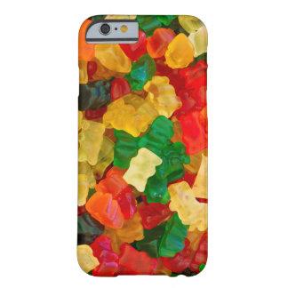 Sucrerie colorée par arc-en-ciel gommeux d'ours coque iPhone 6 barely there