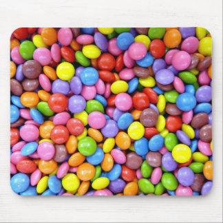 Sucrerie colorée tapis de souris