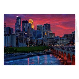 Sucrerie d'oeil de Minneapolis Carte De Vœux