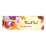 Sucreries colorées : Étiquette de cadeau de Merci Modèle De Carte De Visite