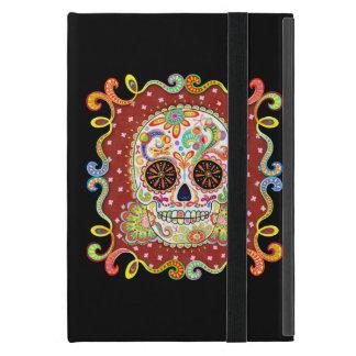 Sucrez caisse d'iPad d'art de crâne la mini avec K Étui iPad Mini