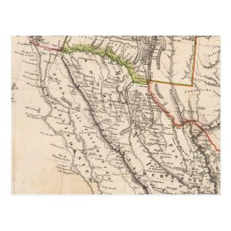 Sud-ouest Etats-Unis Carte Postale