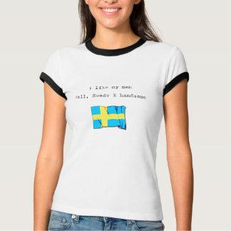 """Suédois beau…"" T-shirt"