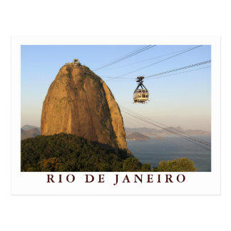 Sugarloaf carte postale de Rio de Janeiro