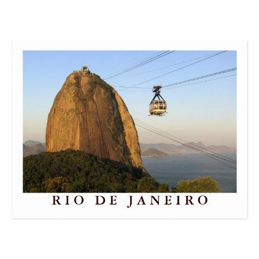 """""""Sugarloaf, carte postale de Rio de Janeiro"""""""
