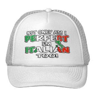 Suis non seulement je me perfectionne… casquette