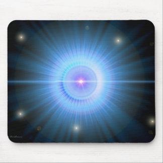 Suivez la MAISON d'étoile bleue Tapis De Souris
