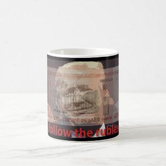 suivez la tasse de roubles