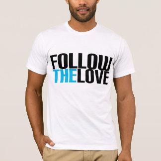 Suivez l'amour t-shirts