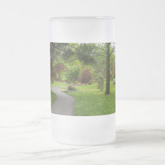 Suivez le chemin Pano Frosted Glass Beer Mug