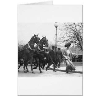 Suivez-moi Boys, 1908 Carte De Vœux