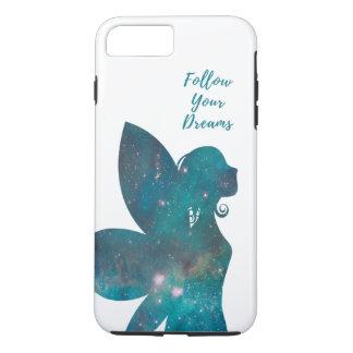 Suivez vos rêves féeriques en turquoise de verts coque iPhone 7 plus