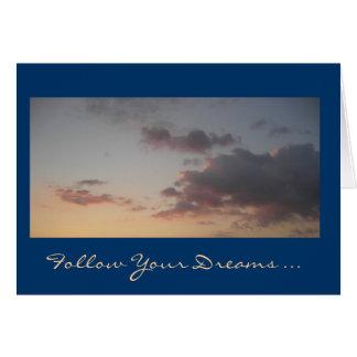 Suivez votre carte de rêves