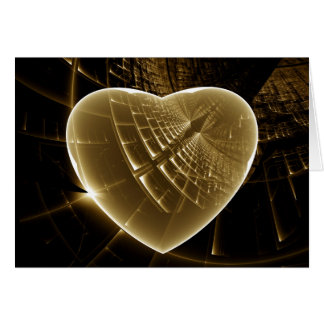 Suivez votre coeur carte de vœux
