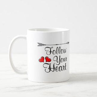 suivez votre coeur mug